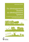 Livre numrique Du dveloppement durable au dveloppement optimal