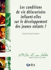 Livre numrique Les Conditions de vie dfavorises influent-elles sur le dveloppement des jeunes enfants ? - 1001 bb n73