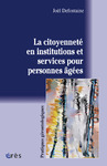 Livre numrique La citoyennet en institutions et services pour personnes ges