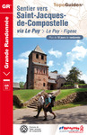 Livre numrique Sentier vers Saint-Jacques-de-Compostelle : Le Puy - Figeac
