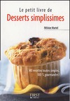Livre numrique Petit livre de - Desserts simplissimes