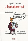 Livre numrique Le Petit Livre de - Franais correct