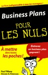 Livre numrique Les Business plans Pour les Nuls