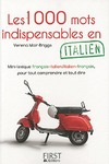 Livre numrique Petit Livre de - 1000 mots indispensables en italien