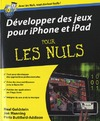 Livre numrique Dvelopper des jeux pour iPhone et iPad Pour les Nuls
