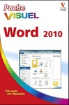 Livre numrique Poche Visuel Word 2010