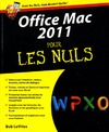 Livre numrique Office 2011 Mac Pour les Nuls