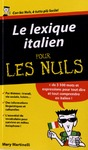 Livre numrique Le lexique italien Pour les Nuls