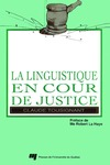 Livre numrique La linguistique en cour de justice