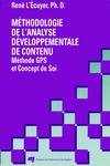 Livre numrique Mthodologie de l&#x27;analyse dveloppementale de contenu