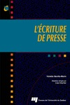 Livre numrique L&#x27;criture de presse