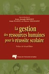 Livre numrique La gestion des ressources humaines pour la russite scolaire