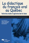 Livre numrique La didactique du franais oral au Qubec
