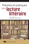 Livre numrique Thories et pratiques de la lecture littraire