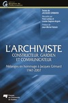 Livre numrique L&#x27;archiviste