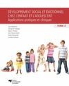 Livre numrique Dveloppement social et motionnel chez l&#x27;enfant et l&#x27;adolescent, tome 2