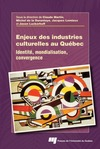 Livre numrique Enjeux des industries culturelles au Qubec