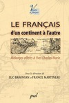 Livre numrique Le franais, dun continent  lautre. Mlanges offerts  Yves Charles Moriin