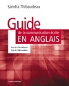 Livre numrique Guide de la communication crite en anglais