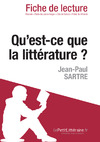 Livre numrique Qu&#x27;est-ce que la littrature? de Sartre (Fiche de lecture)