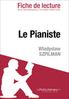 Livre numrique Le pianiste de Wladyslaw Szpilman (Fiche de lecture)