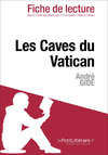 Livre numrique Les Caves du Vatican d&#x27;Andr Gide (Fiche de lecture)
