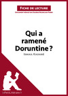 Livre numrique Qui a ramen Doruntine ? d&#x27;Ismal Kadar (Fiche de lecture)