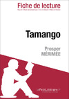 Livre numrique Tamango de Prosper Mrime (Fiche de lecture)