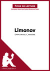 Livre numrique Limonov dEmmanuel Carrre (Fiche de lecture)