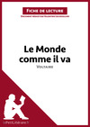 Livre numrique Le Monde comme il va de Voltaire (Fiche de lecture)
