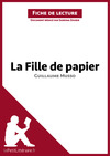 Livre numrique La fille de papier de Guillaume Musso (Fiche de lecture)