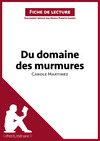Livre numrique Du domaine des murmures de Carole Martinez (Fiche de lecture)