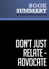 Livre numrique Summary: Dont Just Relate-Advocat - Glen Urban