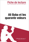 Livre numrique Ali Baba et les quarante voleurs (Fiche de lecture)