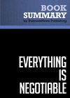 Livre numérique Summary: Everything is Negotiable