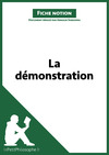 Livre numrique La dmonstration (Fiche notion)