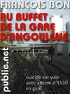 Livre numrique Au buffet de la gare dAngoulme