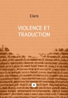 Livre numrique Violence et traduction