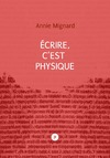 Livre numrique Ecrire, cest physique