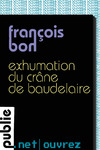 Livre numrique Exhumation du crne de Baudelaire