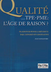 Livre numrique La qualit dans les TPE-PME - L&#x27;ge de raison