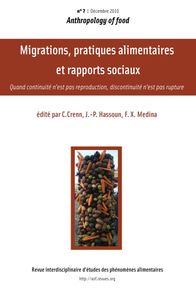 Livre numrique 7 | 2010 - Migrations, pratiques alimentaires et rapports sociaux - AOF