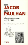 Livre numrique Jacob Paulhan correspondance 1915 - 1941