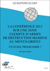 Livre numrique La confrence 2012 sur une zone exempte d&#x27;armes de destruction massive au Moyen-Orient