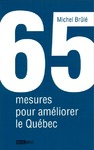 Livre numrique 65 mesures pour amliorer le Qubec