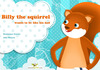 Livre numérique Billy the squirrel wants to be like his dad
