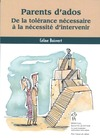 Livre numrique Parents d&#x27;ados : De la tolrence ncessaire  la ncessit..