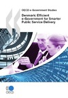 Livre numérique Denmark: Efficient e-Government for Smarter Public Service Delivery