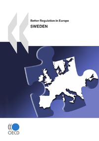 Livre numérique Better Regulation in Europe: Sweden 2010