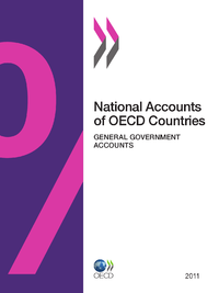 Livre numérique National Accounts of OECD Countries, General Government Accounts 2011